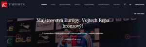 Web brokera Topforex
