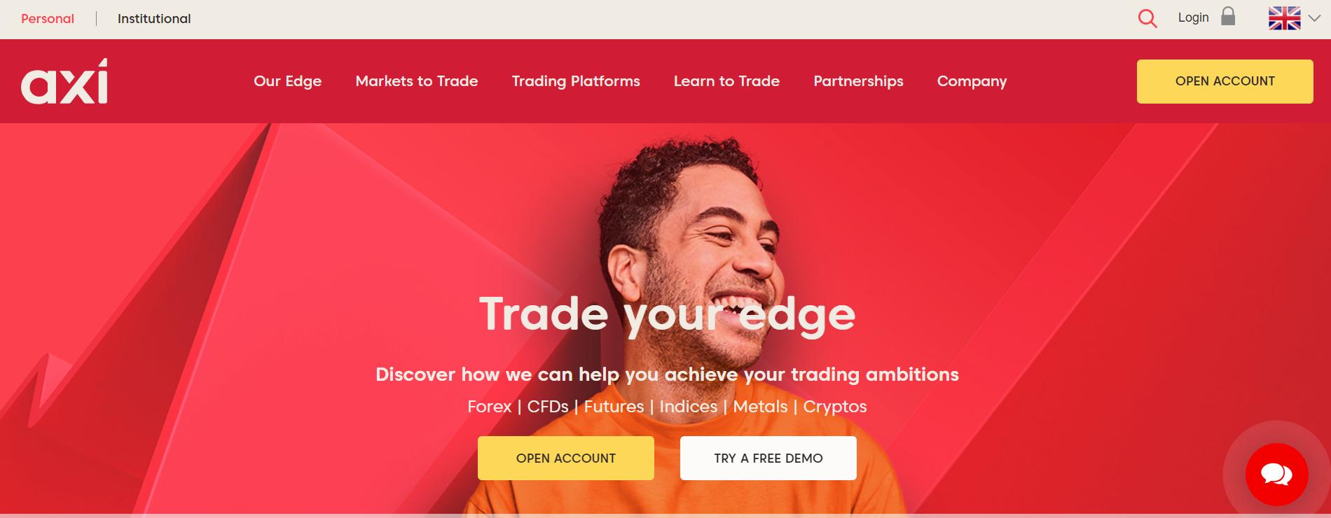 Web spoločnosti Axi