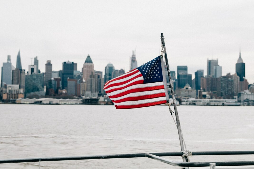 usa, americká vlajka